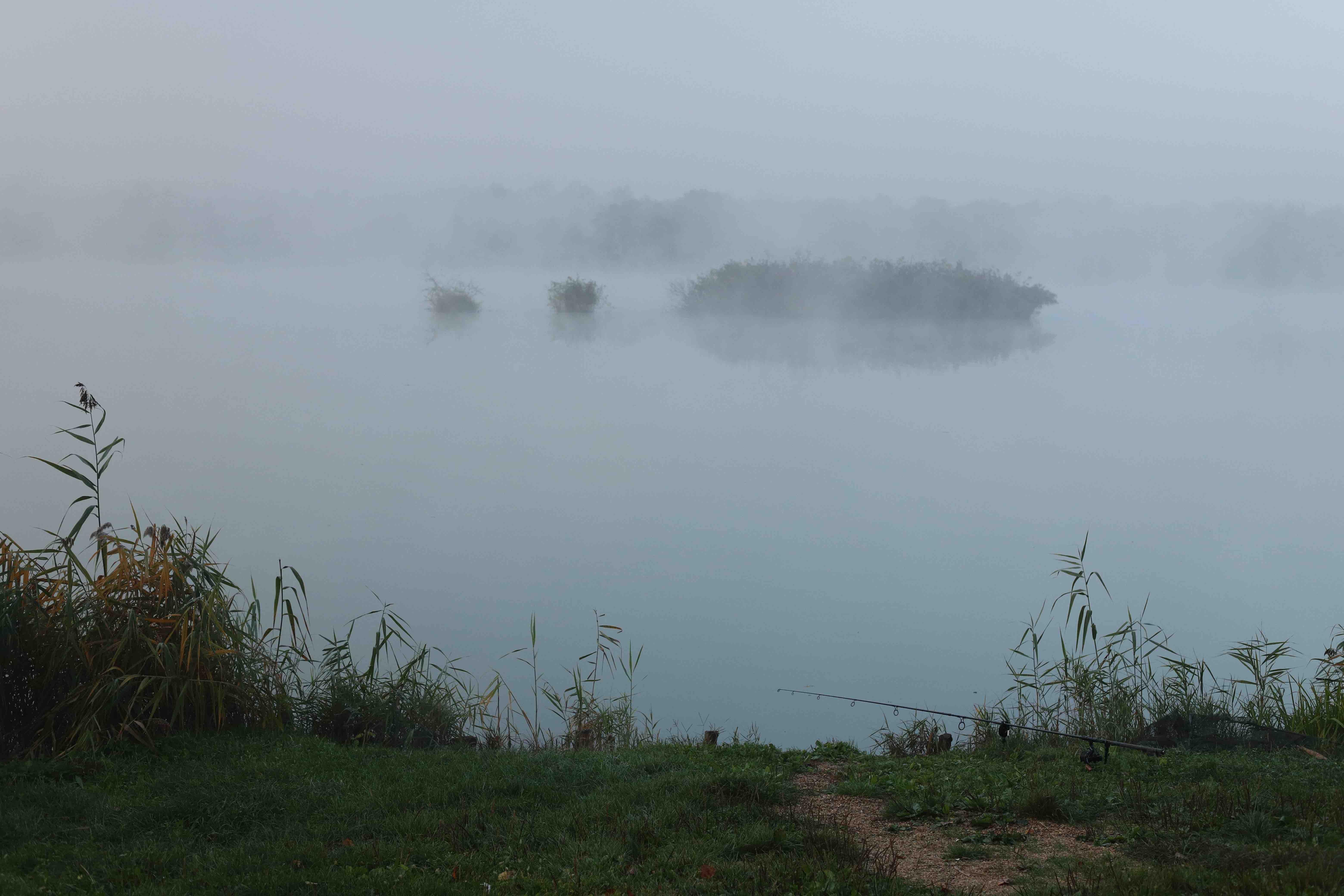 Lake Sumbar fishing, Croatia