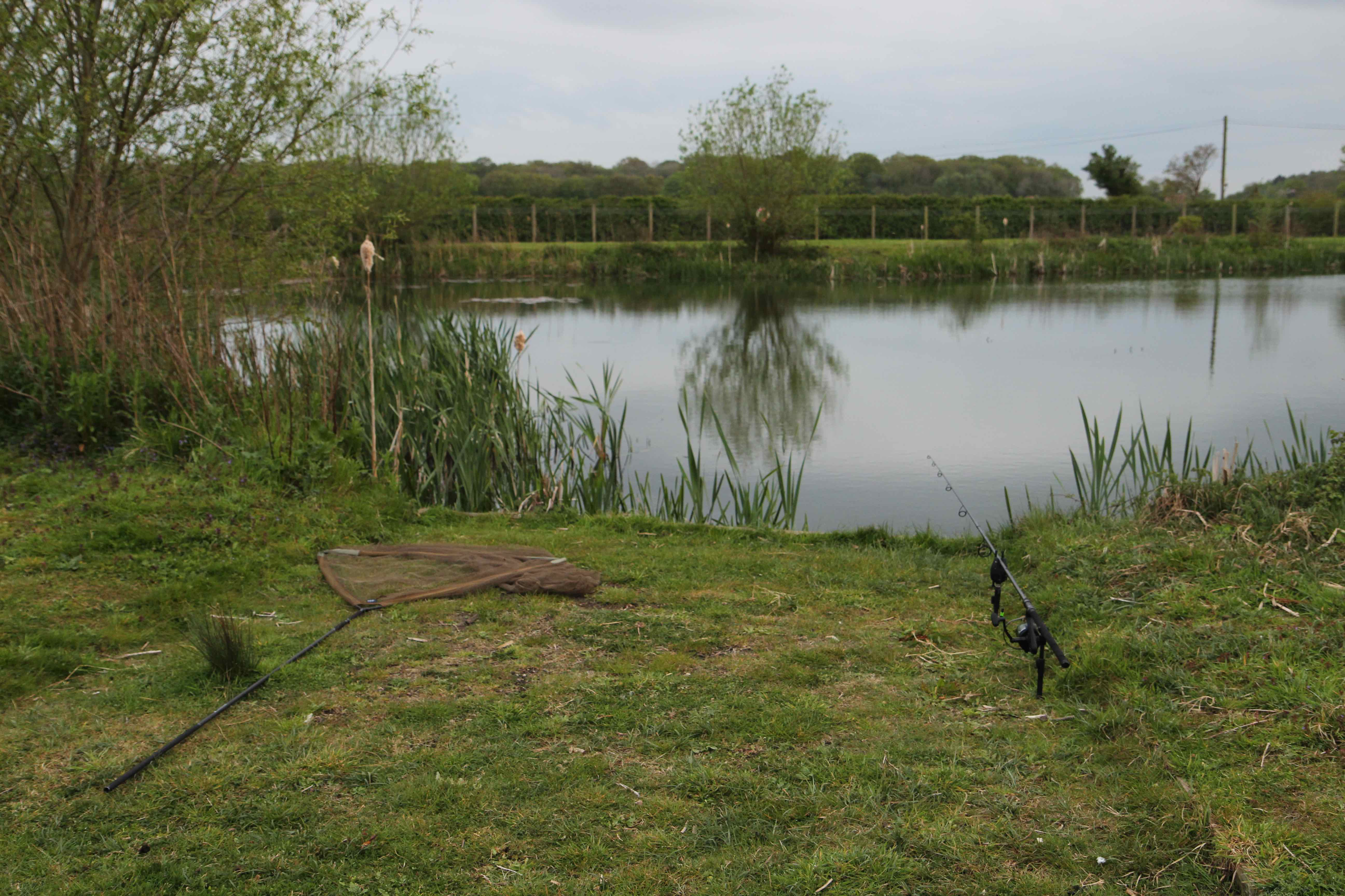 Spitfire Pool, Airfield Lakes Norfolk